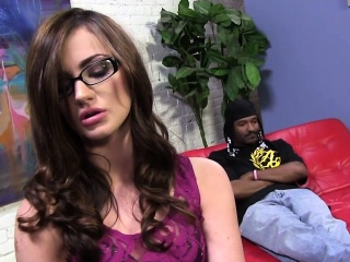 lily carter squirts on huge black cock