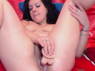 german amateur with big dildo