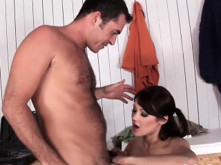 rough dp action with a slender hottie