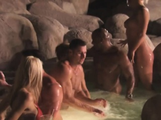 swingers preparing for sexy action in reality show