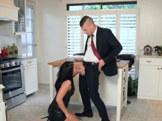 slut makes the business deal go through