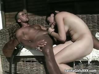beautiful latina slut gives great head
