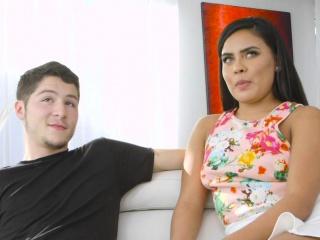 latina milf fucks guys big cock