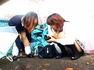 asian college girl public pickup