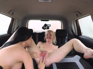 blonde sucks cock then gets licked by examiner