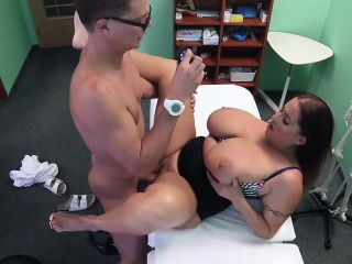 doctor bangs amazing huge tits babe
