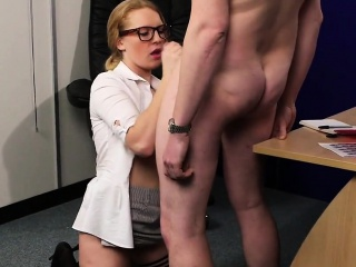 unusual looker gets cumshot on her face swallowing all the s