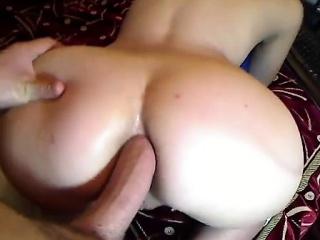 amateur couple anal fucking pov style
