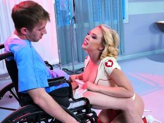 leroyz kagney linn karter nurse sexy uniform sex