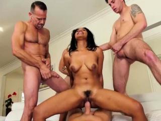 ebony jennas having an orgy massage fuck