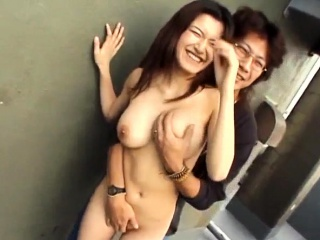 smoking hot brunette mayu kotono gets on her knees and