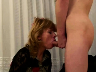 mature lady sucked her step son's dick