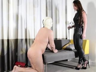european slave femdom with cumshot