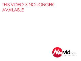 amazing redhead in stockings masturbates passionately