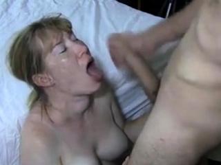 juicy big dick blowjob and cumshot facial 025