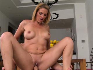 amazing stepmom sucks her stepsons cock