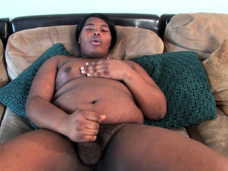 chubby nubian tgirl blowing dick at casting
