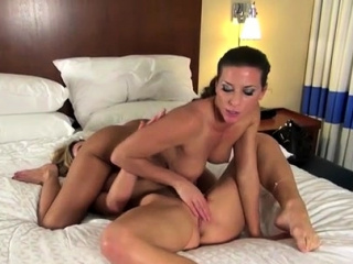 two fits lesbians eat lick each others pussy