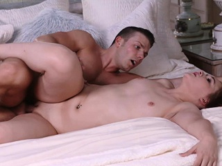 april reid getting her wet pussy a hard doggystyle fuck