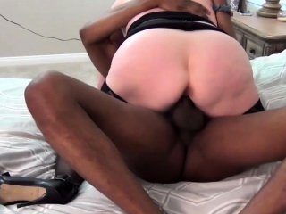 shaved vagina drilled with hard dick