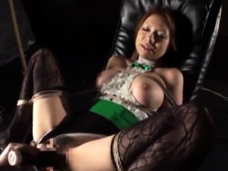 asian girl in sexy stockings fingering herself sucking guy c