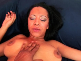 big tits amateur girl is riding in pov
