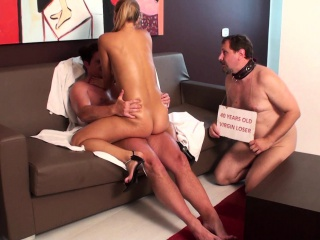 fetish ladies enjoy to fuck inf front of cuckolds