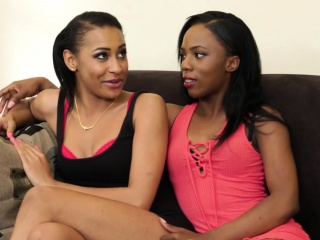 hot black lesbians know how to please their horny cunts