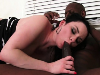 veruca james has fun with a black guy