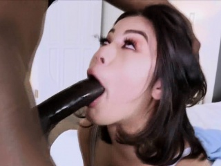 busty exotic brunette pounded by a bbc