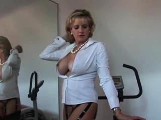 unfaithful british mature lady sonia showcases her large hoo
