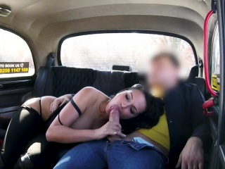fake taxi sexy big tits german lusts for big cock