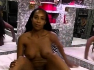 black amateur with big tits loves fucking white cocks