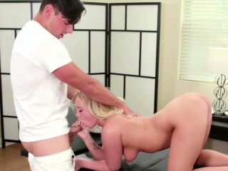 bailey brooke gets a massage and a steamy sexual encounter