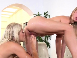 cute lesbian kittens get splashed with piss and ejaculate we