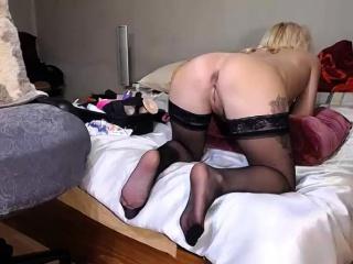 mature stockings high heel fetish