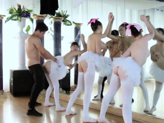 teen cheerleader gangbang first time ballerinas