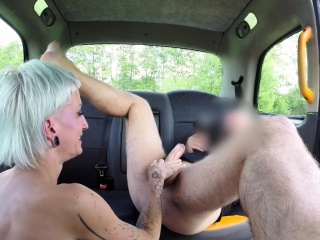 fake taxi big facial for horny tattooed german