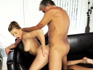 daddy4k dude catches attractive girlfriend making love