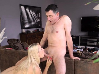 daddy4k skillful dad shares sexual experience with son's