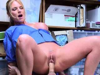 hot milf lp officer rachael cavalli fucks a shoplifter