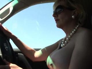 unfaithful british mature lady sonia flaunts her huge breast