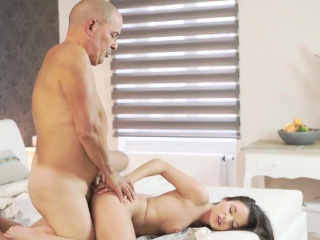 shy young girl old man first time her wet dream