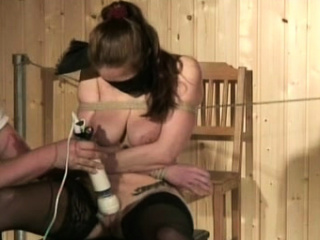 naked woman gets the bumpers ravished in breast torture show