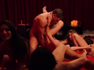 passive husband cuckold group sex action