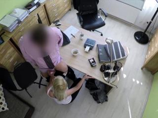 loan4k blonde haired miss gets sissy banged hard in loan