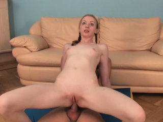 hawt chick rides dick and gets drilled in other poses