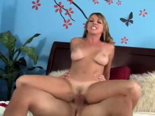 blonde stepmom cant resist fucking her step son