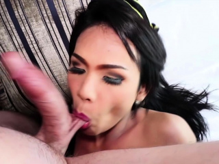 awesome blowjob and ass giving from ladyboy khawn