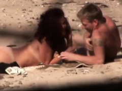 Voyeur Spying Nudists Sex On The Beach Voyeur